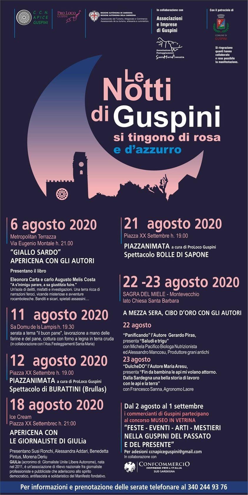 Notti Rosa e Azzurre 2020