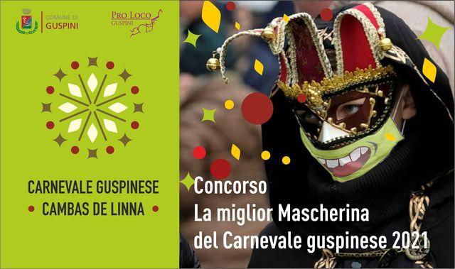 Carnevale Guspinese: un concorso per la migliore mascherina